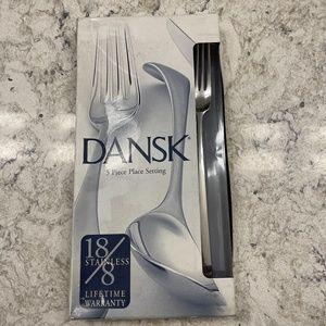 New Dansk Stainless Flatware - Rondure